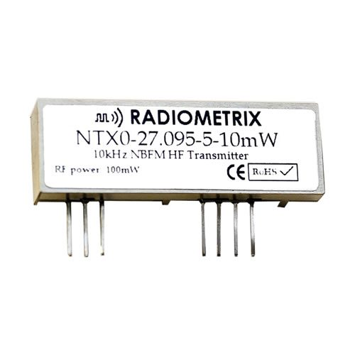 Radiometrix NTX0-lg 10mW HF Transmitter